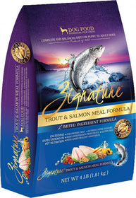 Zignature Limited Ingredient Diet Trout & Salmon Dry Dog Food