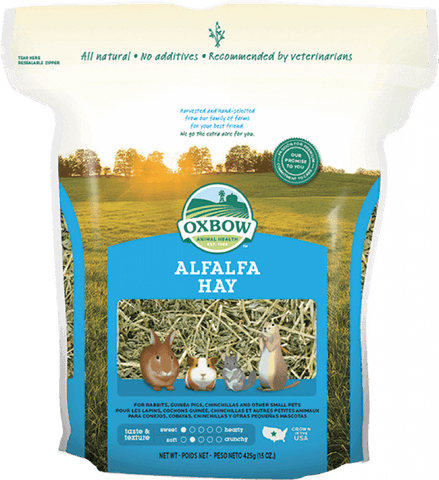 Oxbow Alfalfa Hay Small Animal Food