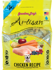 Grandma Lucy's® Artisan™ Freeze Dried Grain Free Chicken Recipe Dog Food