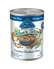 BLUE BLUE's Stew Adult Chicken Stew Wet Dog Food 12.5-oz (Pack of 12)