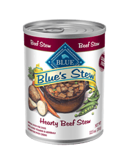 BLUE BLUE's Stew Adult Beef Stew Wet Dog Food 12.5-oz (Pack of 12)