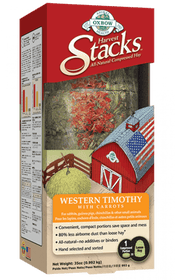 Oxbow Harvest Stacks Western Timothy 35 oz Small Animal Food