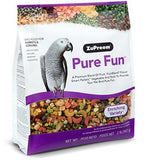 ZuPreem Pure Fun Bird Food for Parrots & Conures