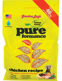 Grandma Lucy's® Pureformance™ Freeze Dried Grain Free Chicken Recipe Dog Food