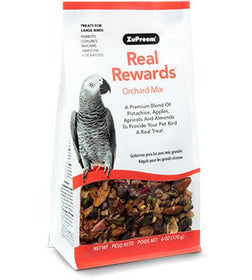 ZuPreem Real Rewards Orchard Mix Large Bird Treats