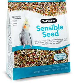 ZuPreem Sensible Seed Bird Food for Medium Birds