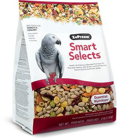ZuPreem Smart Selects Parrots & Conures