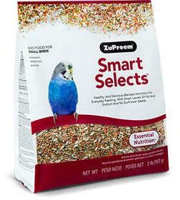 ZuPreem Smart Selects Parakeet - Small Birds