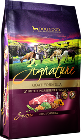 Zignature Limited Ingredient Diet Goat Formula Dog Food