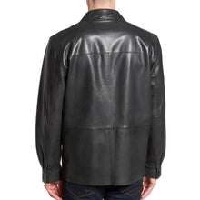 Stander Style Men Leather Coat