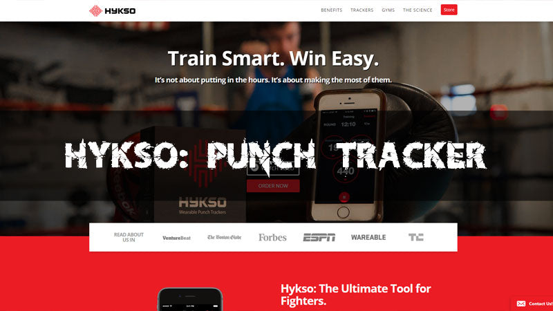 Hykso: Punch Tracker the future of fighting