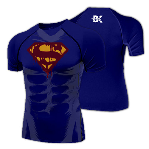 Zombie Superman Compression Shirt