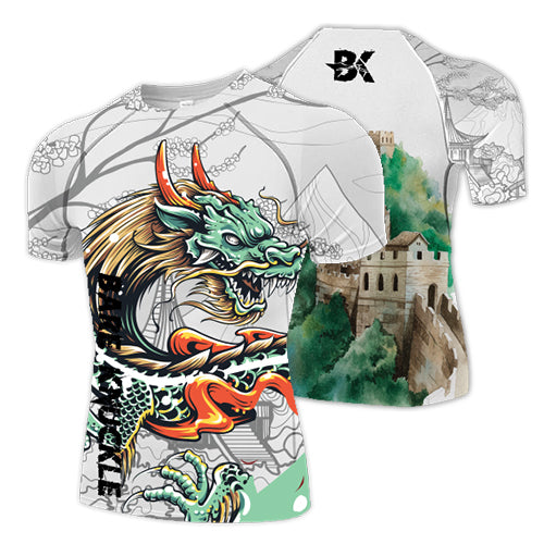 Chinese Dragon Compression Shirt