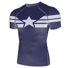 New-Age Captain America Compression Shirt