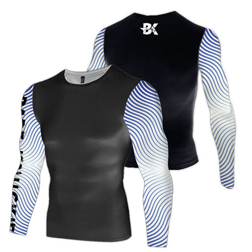 Waves Compression Top