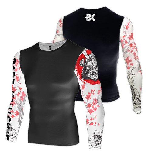 Samurai Compression Top