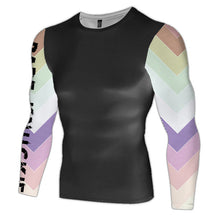 Rainbow Compression Top