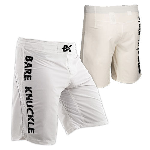 Pure White MMA Shorts