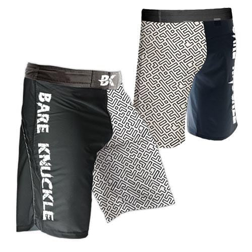 Line Work MMA Shorts
