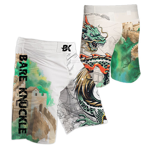 Chinese Dragon MMA Shorts