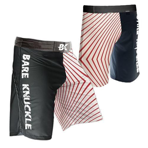 Red Band MMA Shorts