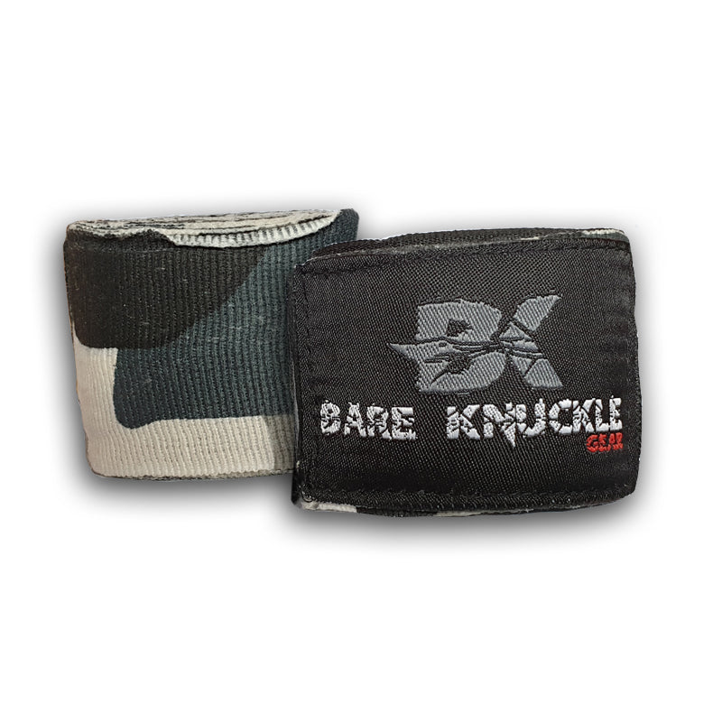 Night Stalker (Grey Camo) Hand Wraps
