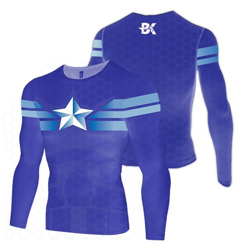 Captain America Armour Compression Top