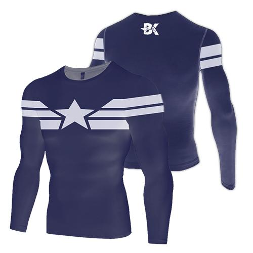 New-Age Captain America Compression Top