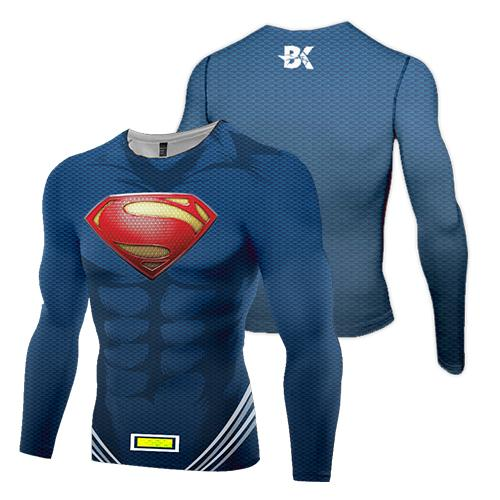 New-Age Superman Compression Top