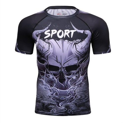 The Horns Rash Vest