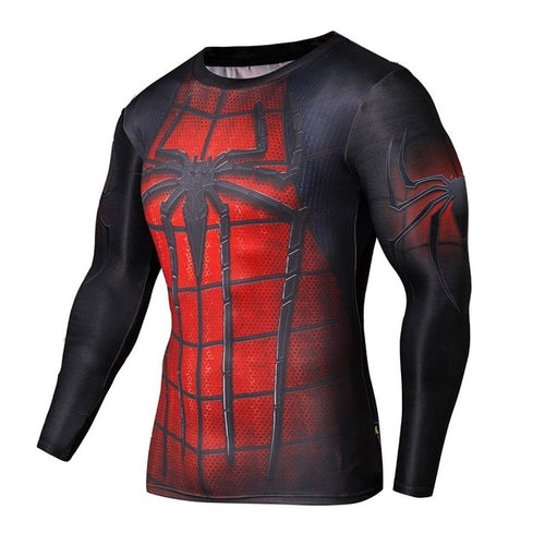 Spiderman Rash Top