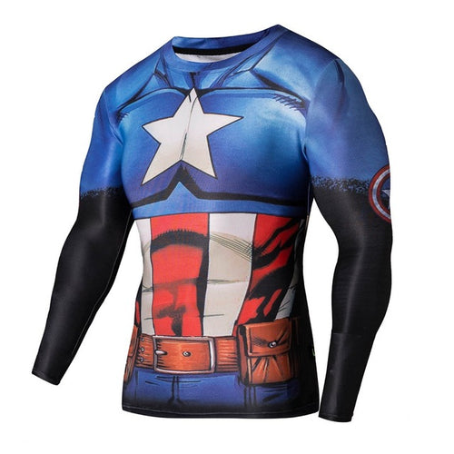 Comic Captain Rash Top