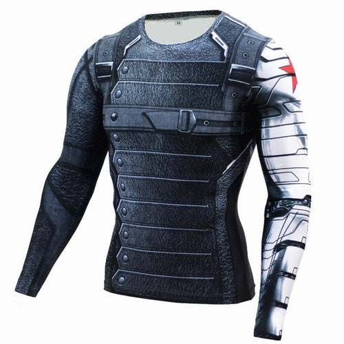 Winter Soldier Rash Top