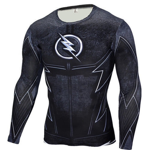 Dark Flash Rash Top