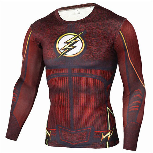 The Flash Rash Top
