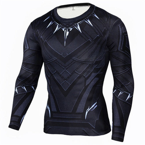 Black Panther Rash Top