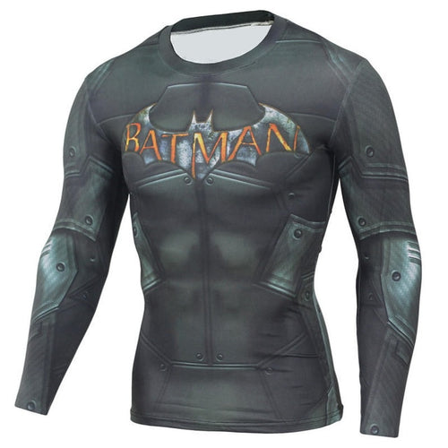 Arkham Bat Rash Top