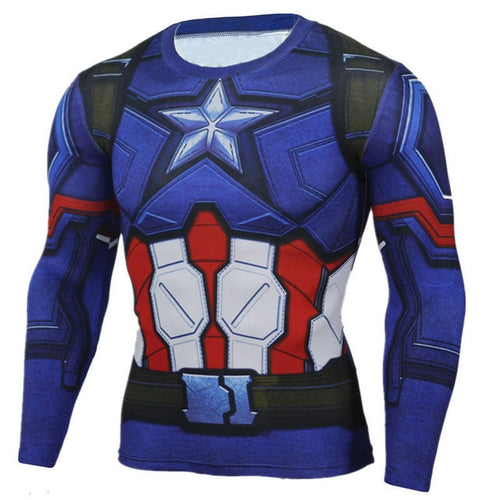 Captain America Rash Top