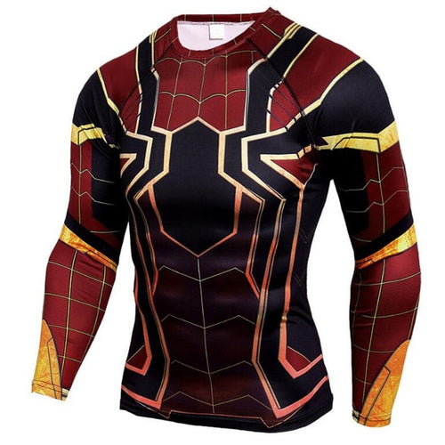 Cosmic Spidey Rash Top