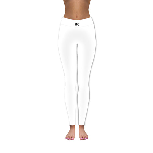 Pure White Gym Pants