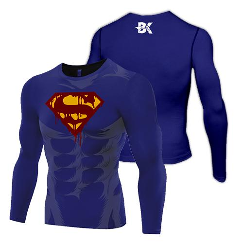 Zombie Superman Compression Top