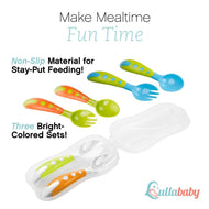 Toddler Fork and Spoon Utensil Set
