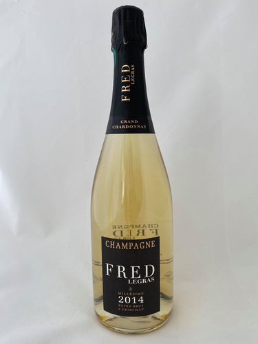 Champagne Fred Legras Millésime 2014