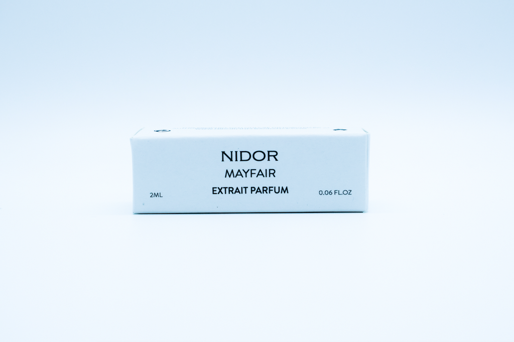 Scotland NIDOR Fine Fragrance Mayfair 2ml Extrait Parfum fragrance perfume