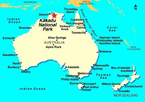 Map Of Australia Kakadu National Park.Travel Around Australia S Most Beautiful Kakadu National Park