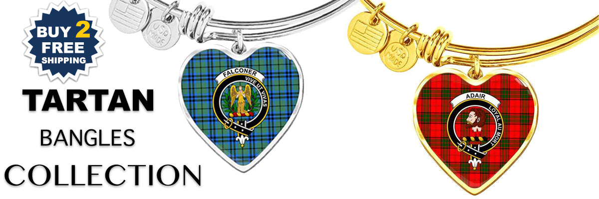 tartan, scotland, scottish,bangle, bangles, silver bangle, golden bangle