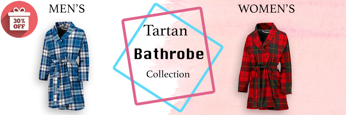 tartan, bathrobe, online shopping, bathroom, tartan collection