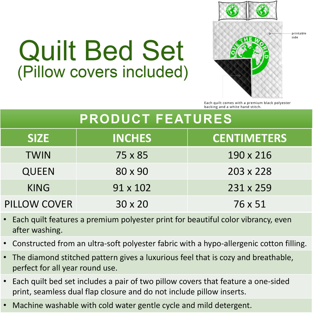 Quilts Bed Set | 1sttheworld.com