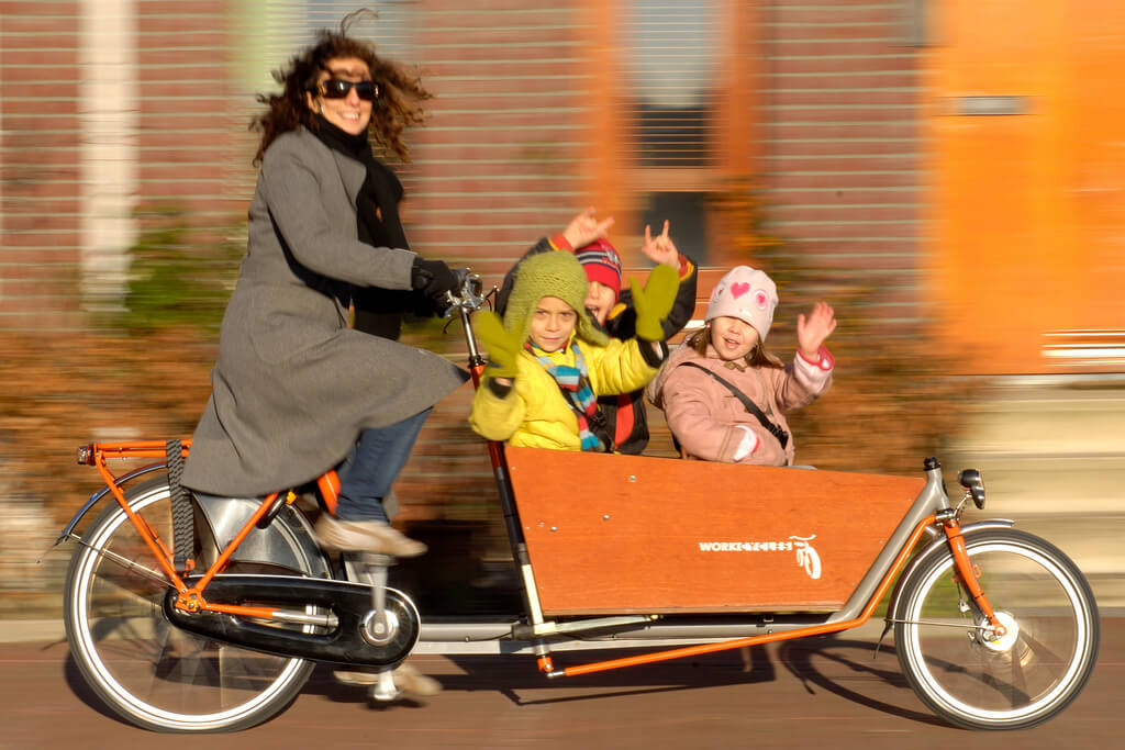 bakfiets - Surprising Reasons Why the Dutch Love Cycling So Hard