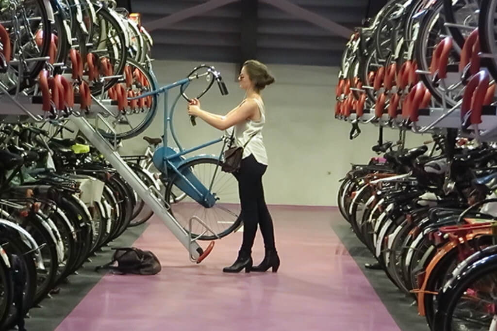 underground parking in Utrecht - Surprising Reasons Why the Dutch Love Cycling So Hard